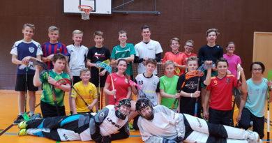 Unihockey-Freikurs vom 13. November 2017
