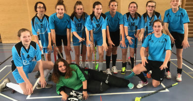 Unihockey: Kantonale Schülermeisterschaften Mädchen 2018