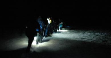 Nachtwanderung auf den Weissenstein
