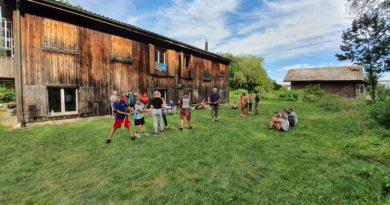 Sommerlager Langenthal B20c und B20d