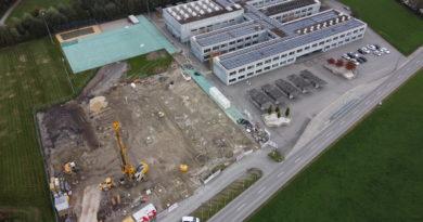 Dreifachhalle oz13 – Bilder der Baustelle